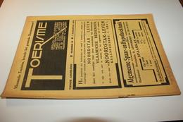 #20738 [Boek - Tijdschrift] Toerisme, Tiende Jaargang, Nummer 15, 1 Augustus 1931 Mol Postel Saint Jean De Luz - Tourisme