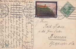 Deutsches Reich Postkarte 1913 VDA - Deutschland