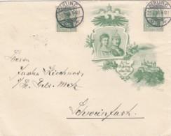 Deutsches Reich Privat Umschlag 1906 - Poste Privée