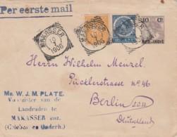 Nederlands-Indië Enveloppe 1906 First Mail - Indes Néerlandaises