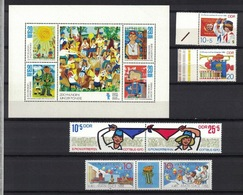 DDR Between 1970 - 1988,Young Pioneers Junge Pioniere **, MNH - Kind & Jugend
