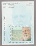 H 133) Österreich 2005 Mi# 2520 Bl.27 **: Carl Djerassi, Chemie, Wien - Chemie