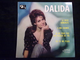 Dalida: Le Petit Gonzales + 3/ 45t Barclay 70 446, Languette - Vinyl Records