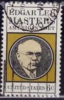 United States, 1970, Edgar Lee Masters , 6c, Sc#1405, Used - United States