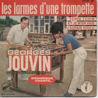 """45T. Georges JOUVIN. Les Larmes D'une Trompette - + 1 Titre De """"Françoise HARDY"""" Et 2 Titres De """"Richard ANTHONY"""" - Vinyles"""