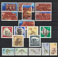 DDR Between 1970 - 1990, Archeologie Archaeology Dinosaurier Dinosaur **, MNH - Archäologie