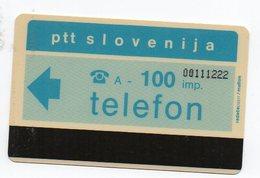 PTT Slovenija - Telefon -  100 Imp. - Slovénie