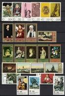 DDR Between 1970 - 1990, Kunst Art Painting Gemälde Radierung Etching **, MNH (4 Scans) - Künste