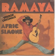 45T. AFRIC SIMONE.  RAMAYA - Version Originale - PIRANHA - Vinyl Records