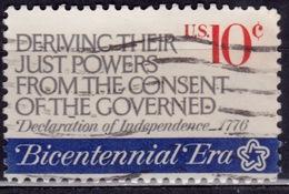 United States, 1974, Revolution Bicentennial, 10c, Sc#1545, Used - United States