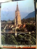 SUISSE SVIZZERA SWITZERLAND -SCHWEIZ BERN MUNSTER  TRENO  TRAIN   VB1986 HA8005 - BE Berne