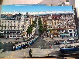 SUISSE SVIZZERA SWITZERLAND -SCHWEIZ ZURICH  TRAM N1960 HA8007 - ZH Zurich