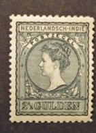 Ned.Indië Nr. 59B Postfris Met Plakker - Indes Néerlandaises