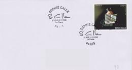 Arts Plastiques : Paris Sophie Calle (19-10-2018) Plasticienne Photographe Femme De Lettres - Arts