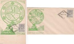 SAVINGS AHORRO POSTAL CAISSE D'EPARGNE LOTE X 2 FDC 1914 ARGENTINA - BLEUP - FDC