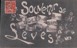 SOUVENIR DE LEVES (1908) - Lèves