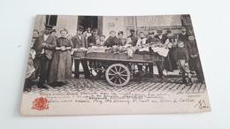 *BRUXELLES -Marchande De Légumes Belle Animation  (pli)  Oblitéré 1904 - Marchés
