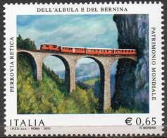 ITALY 2010 Centenary Of The Bernina-Albula Railway - 6. 1946-.. Republic