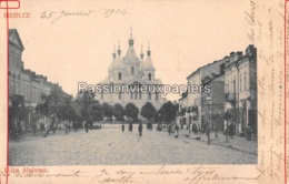 SIEDLCE 1905  ULICA ALEJOWA   (Russiche Kathedrale) - Pologne