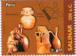 Lote P2006-14, Peru, 2006, Sello, Stamp, Salinar, Culturas Indigenas Peruanas, Indigenous Cultures - Perú