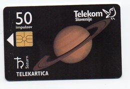 Telekom Slovenije 50 Imp. - SATURN - Slovenia