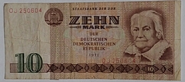 Germany DDR 10 Mark - [ 6] 1949-1990 : RDA - Rep. Dem. Tedesca