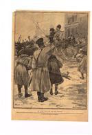 Découpe Journal Supplément à La Dépèche 1905 ? Soldat Russes Le Tzar Acclamé Par Son Peuple Force Comparée Russie Japon - Old Paper
