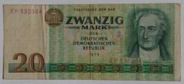 Germany DDR 20 Mark - [ 6] 1949-1990 : RDA - Rép. Dém. Allemande