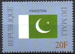 MALI 1999 - 1v - MNH** - Flag Of Pakistan Flags Drapeaux Fahnen Bandiere Banderas флаги - Timbres