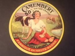 70002 - Petite étiquette De Fromage - La Gitane - CHOIX à BRUSSEY - Haute Saone 70 - Formaggio