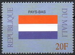 MALI 1999 - 1v - MNH** - Flag Of Netherlands Niederlande Flags Drapeaux Fahnen Bandiere Banderas флаги - Timbres