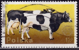 Poland, 1975, Cattle - Congress Emblem, 1.50z, Sc#2099, Used - 1944-.... Republic