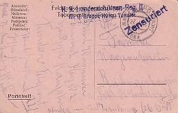 Feldpostkarte K.k. Landesschützen-Reg. II M.G. Gruppe Hptm. Tandler Nach OÖ - 1916 (39624) - 1850-1918 Imperium