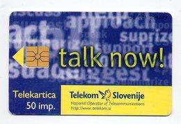 Telekom Slovenije 50 Imp. - TALK NOW - Slovenia