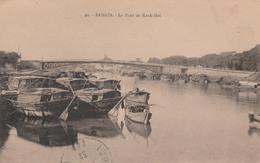 SAIGON     Le Pont De Kanh-Hoi  PLAN 1937  PAS COURANT - Viêt-Nam