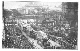 PARIS Obsèques Nationales Des Victimes Des Zeppelins 1916 - Old Paper