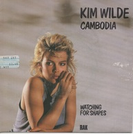 45T. KIM WILDE.   Cambodia  -  Watching For Shapes - Disco, Pop