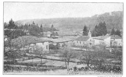 LA HARAZEE Vue Prise De La Forêt 1915 - Old Paper