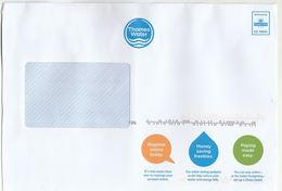 2019 THAMES WATER , SAVE WATER & ENERGY Advert COVER Delivered By Royal Mail  C910002 Prepaid Ppi Stamps Conservation GB - Environment & Climate Protection