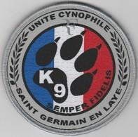 Écusson Police Municipale - K9 Saint-Germain (78) - Police & Gendarmerie