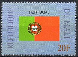 MALI 1999 - 1v - MNH** - Flag Of Portugal Flags Drapeaux Fahnen Bandiere Banderas флаги - Timbres