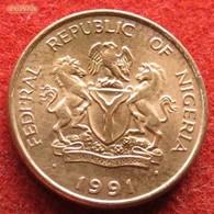 Nigeria 1 Kobo 1991 KM# 8.2a - Nigeria