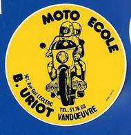 A.C.  MOTO-ECOLE VANDOEUVRE B. Uriot - Stickers