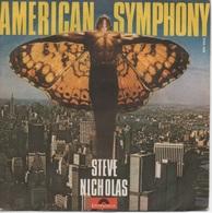 45T. STEVE NICHOLAS.  American Symphony  -  Lady Of Downtown - Disco, Pop