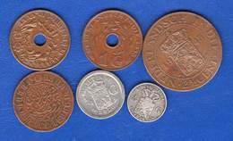 Pays-bas  Colonie  6  Pieces - [ 4] Colonies