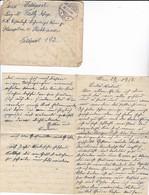 Feldpostbrief Wien Nach K.k. Eisenbahn-Sicherungs-Kompanie Hauptmann V. Olschbaum FP 192 - 1918 (39628) - 1850-1918 Imperium