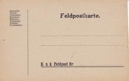 Feldpostkarte 1. WK (39629) - 1850-1918 Imperium