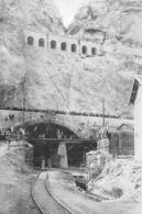 MARSEILLE Inauguration Du Canal Entrée Du Tunnel Donnant Accès à L' Estaque 1916 - Old Paper