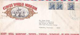 COVER USA BARABOO WIS CIRCUS CIRCO MUSEUM - Circus