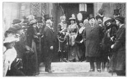 PARIS Eglise Russe De La Rue Daru S E M Stancioff Ministre De Bulgarie En France 1913 - Old Paper